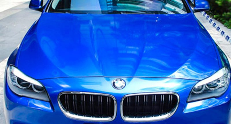 blue gloss matellic vinyl wrap from wrapmaster