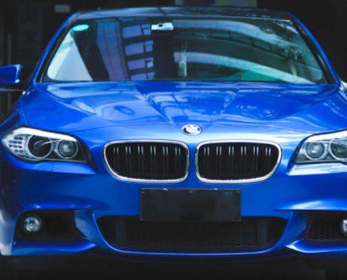 gloss blue matellic pearl pva vinyl car sticker