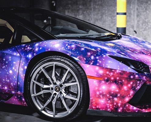 WRAPMASTER Car Auto Body Anti Fog Galaxy vinyl film