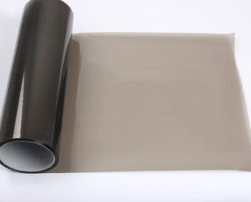 glossy light black tint light film for car headlight