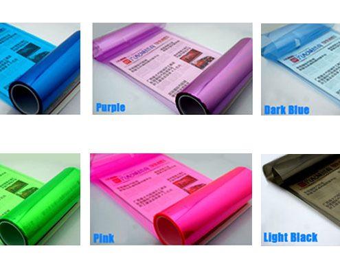 wrapmaster colored car headlight films