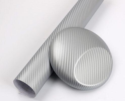 3D-SILVER carbon fiber vinyl film