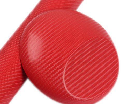 4D RED carbon fiber vinyl car film