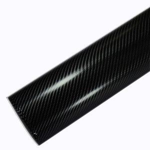 4d black carbon fiber car wraps 4D01