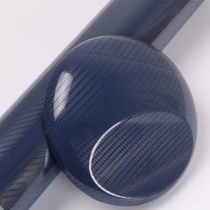 5D DARK BLUE carbon fiber vinyl