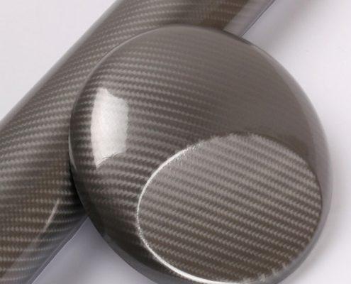 5D GREY carbon fiber vinyl wrap