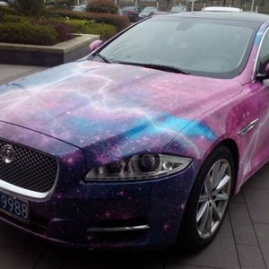 Hot-selling galaxy vinyl car wrap