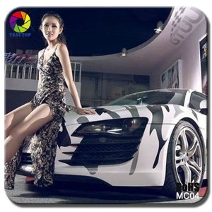 MC04 snow camo Camouflage Car Wrap Vinyl