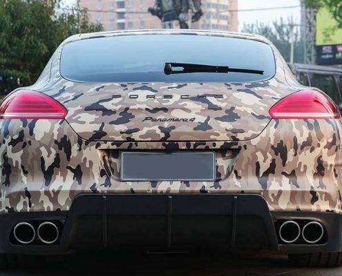 camo auto vinyl car wrap from vinyl wrap supplier