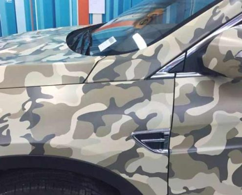 camouflage pvc vinyl wrap