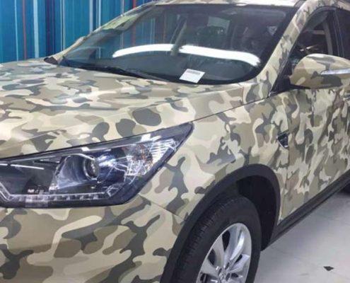 car body camo vinyl sticker