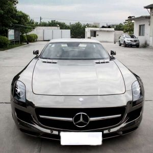 car chrome vinyl wrap tungsten from vinyl wrap supplier