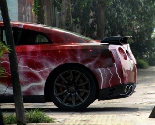 galaxy vinyl car wrapping film