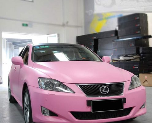matte pink vinyl wrap for sale