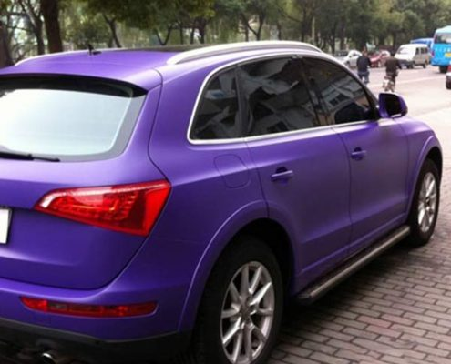 wholesale matte purple vinyl car sticker