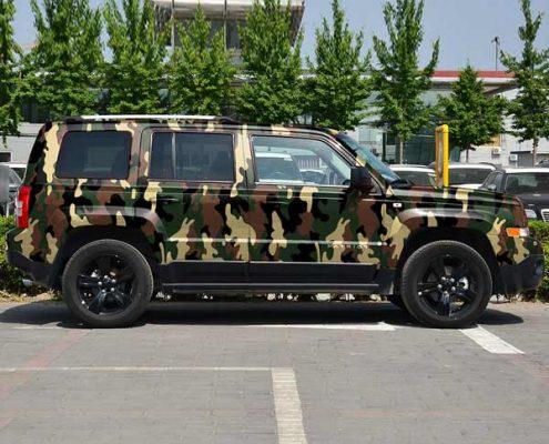 996-2 car camo vinyl pvc wrap