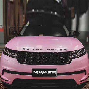 macaron car body vinyl sticker pink