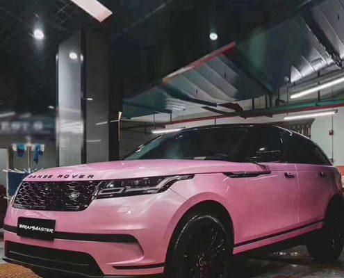pink macaron vinyl car wrap for sale