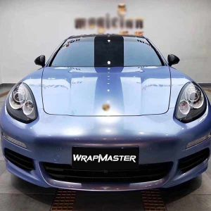 purple blue super gloss metallic car vinyl wrap