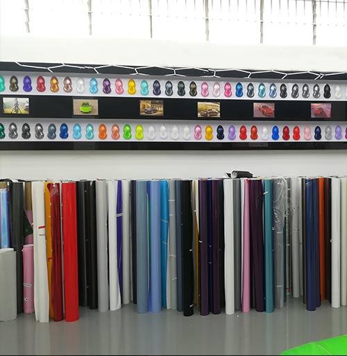 colored vinyl wrap