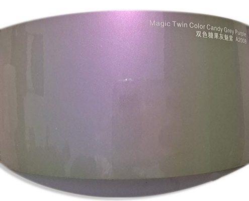 Magic Twin Color Candy Grey Purple car vinyl MTA2008