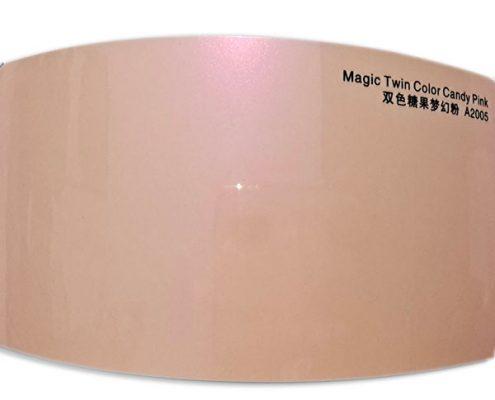 Magic Twin Color Candy Pink vinyl car wrap MTA2005-