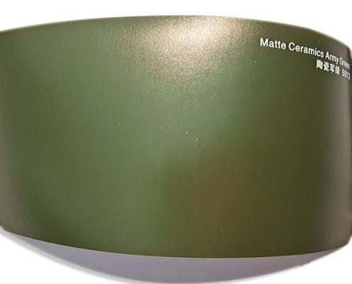 Matte Ceramics Army Green car wrap
