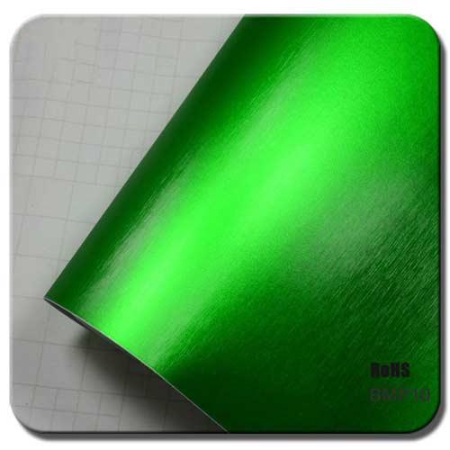 Apple Green brushed Matte Metallic Car Wraps