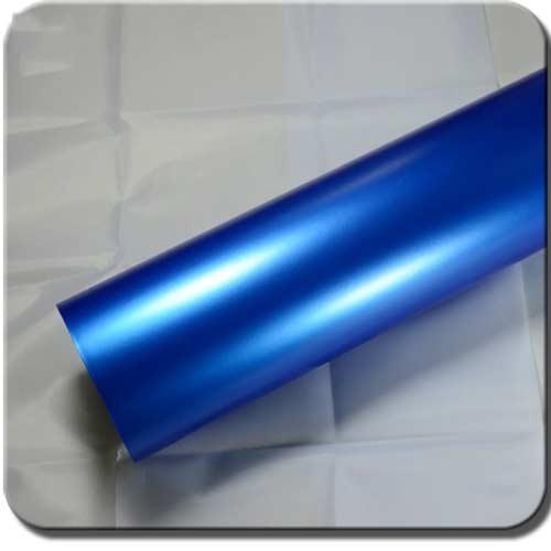 Blue Matte Metallic Car Wraps MP01