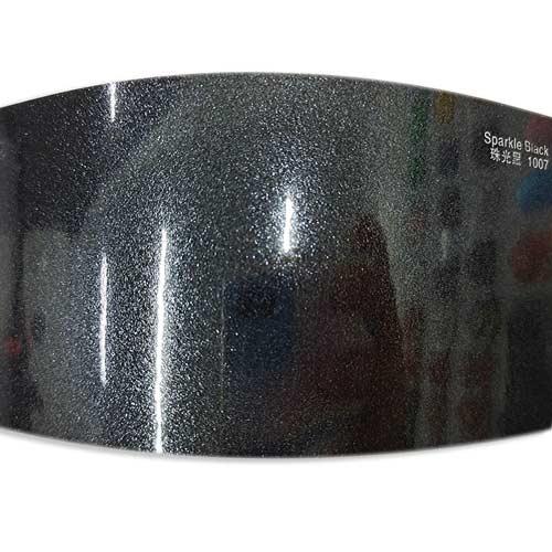 Sparkle Black car wrap sheet SP1033-(2)