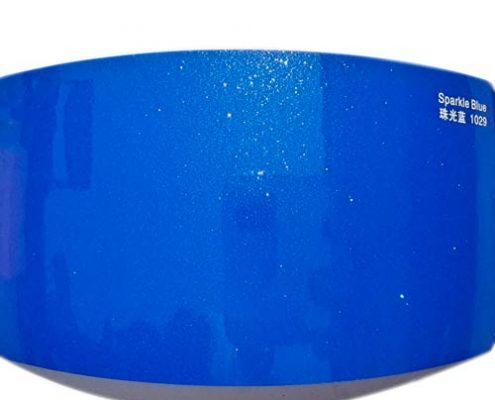 Sparkle Blue car vinyl sheet SP1036