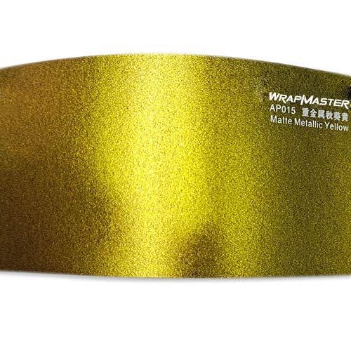 matte heavy metallic yellow AP015-(2)