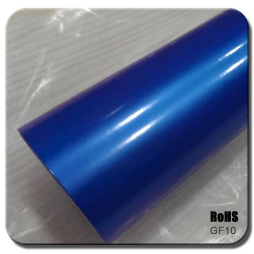 pearl blue glossy car wraps