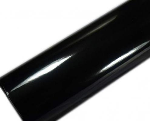 3 layers clossy car wrap black