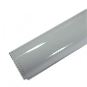 white 3 layers classic gloss car wraps